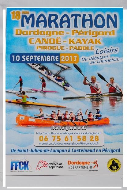 18ème Marathon Dordogne Périgord Canoë-Kayak
