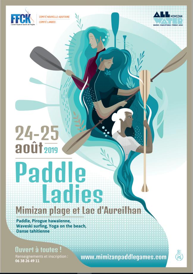 PADDLE LADIES 2019 – Mimizan – 24 et 25 août