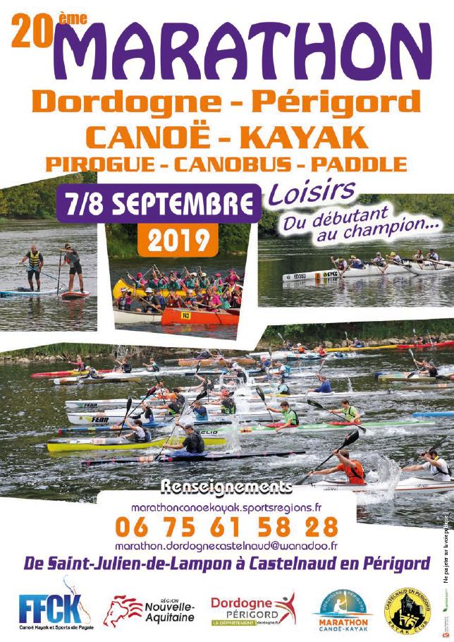 Loisir marathon – 20ème édition du Marathon Dordogne Périgord