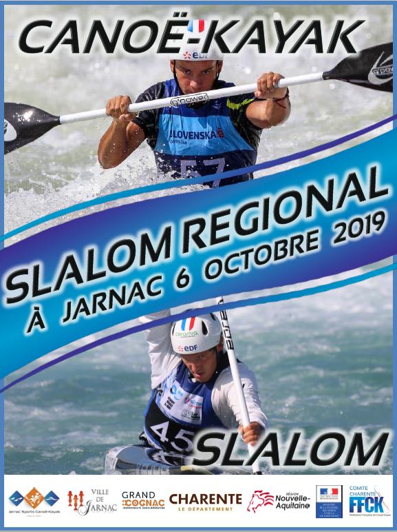SLALOM – Sélectif Régional – JARNAC – 6 OCTOBRE 2019