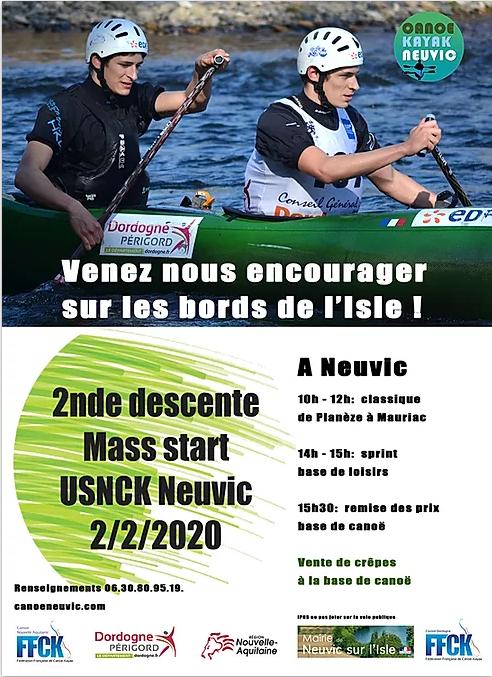 DESCENTE – Sélectif Régional Neuvic – 2 février