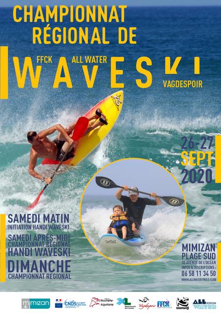WAVESKI – championnat régional les 26 et 27 septembre à Mimizan
