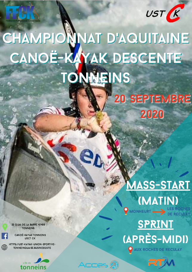 DESCENTE – Championnat Régional Sprint et Mass-Start – Tonneins – 20 septembre