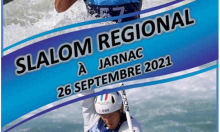 SLALOM régional Jarnac – 26 septembre